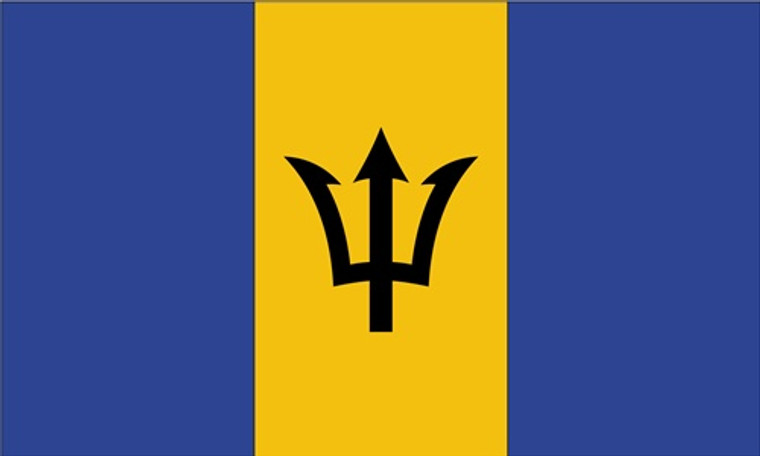 Barbados - 3'x5' Light Weight Polyester Flag