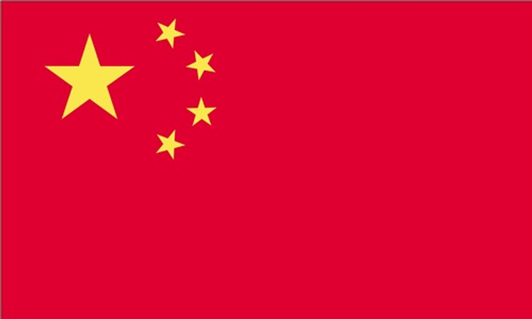 China- 3'x5' Light Weight Polyester Flag