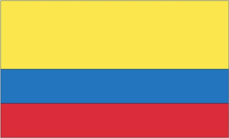 Colombia - 3'x5' Light Weight Polyester Flag