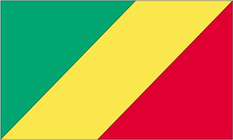 Congo - 3'x5' Light Weight Polyester Flag
