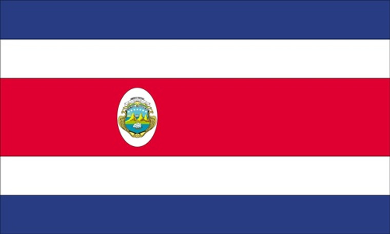 Costa Rica - 3'x5' Light Weight Polyester Flag