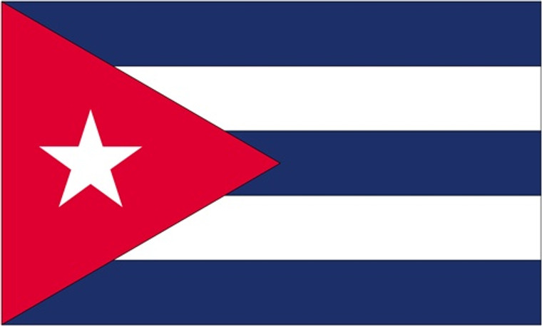 Cuba - 3'x5' Light Weight Polyester Flag