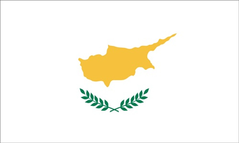 Cyprus - 3'x5' Light Weight Polyester Flag