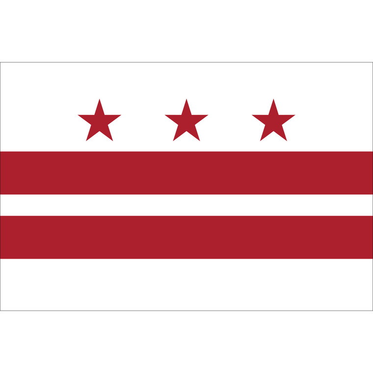 District of Columbia Territory Flag