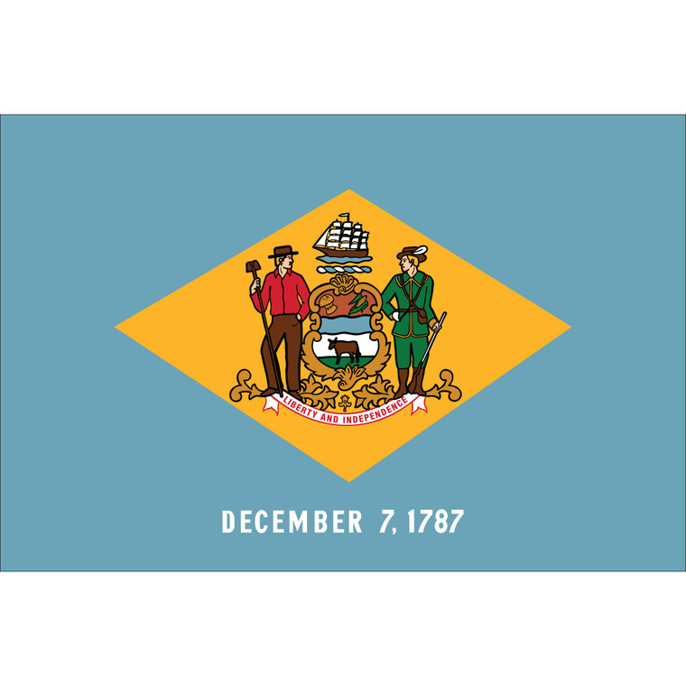 Delaware State Flags