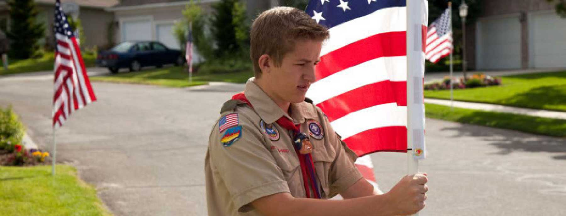 US Fundraising Flag Fundraiser Kits for Scouts and Donations