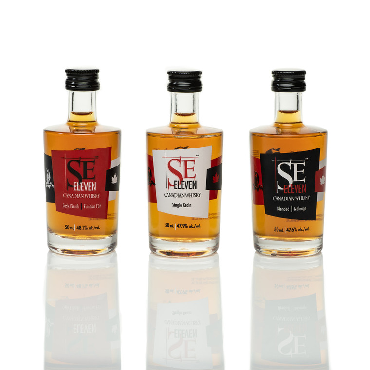 BLACK FOX SE ELEVEN WHISKY COLLECTION 3X50 ML