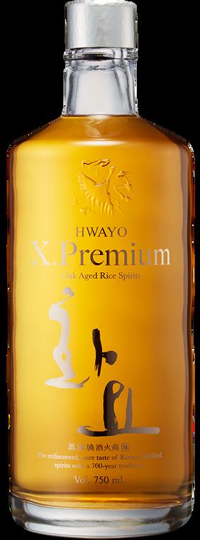 HWAYO X PREMIUM OAK AGED RICE WHISKEY