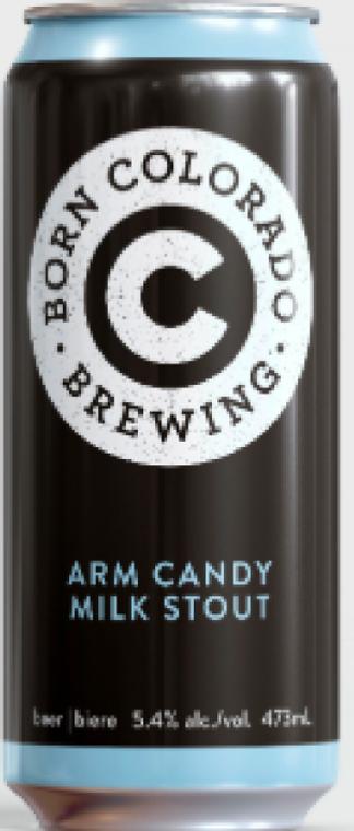 BORN COLORADO ARM CANDY MILK STOUT 473 ML CAN