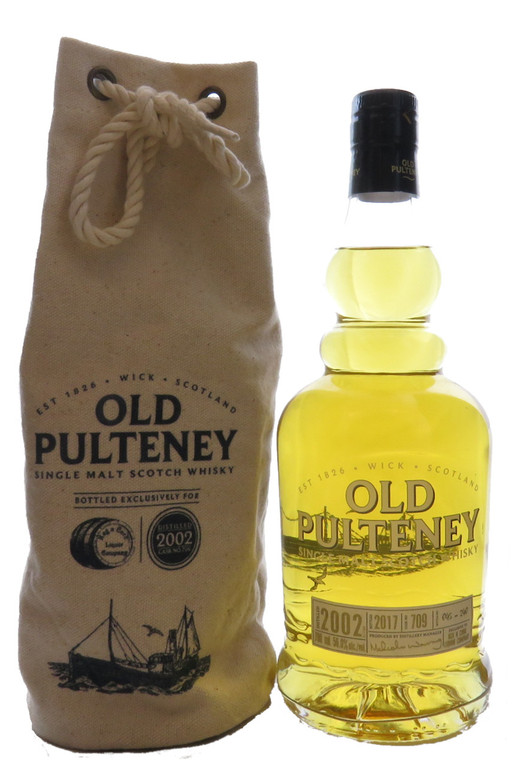 OLD PULTENEY 2002 15 YEAR OLD KEG N CORK SINGLE CASK