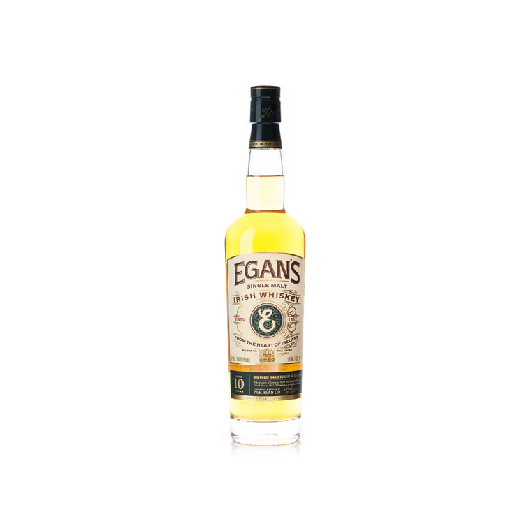 EGANS IRISH WHISKEY 10 YEAR OLD