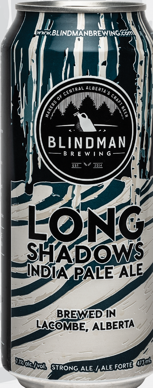 BLINDMAN LONGSHADOWS IPA 473 ML CAN