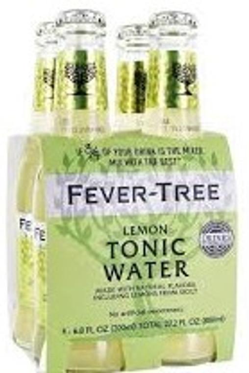 FEVER TREE LEMON TONIC 4 X 200ML