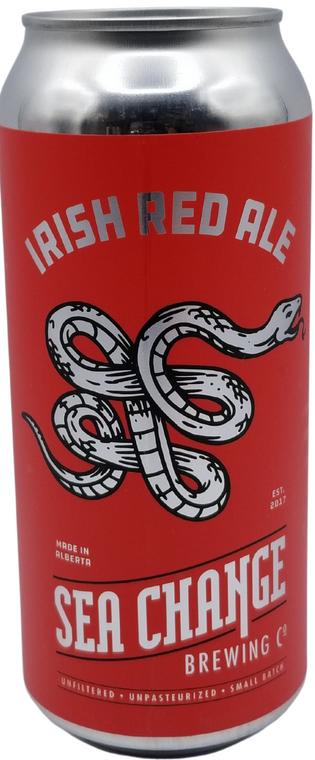 SEA CHANGE IRISH RED ALE 473 ML CAN