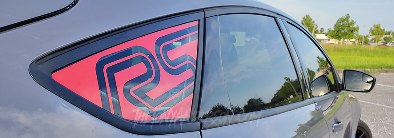 Ford Focus RS Decals and Stickers