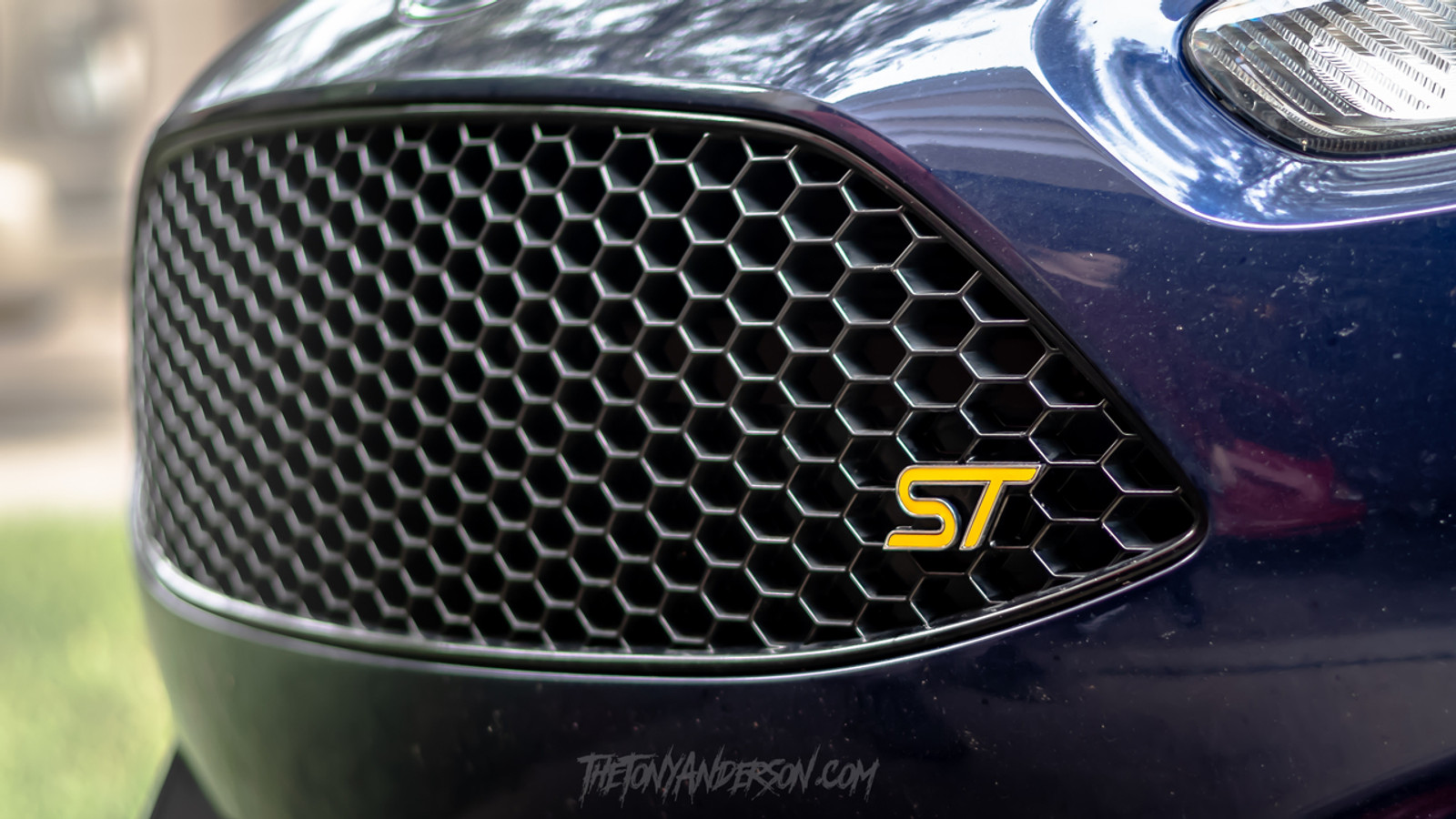 Front Fiesta ST Inlay in Yellow