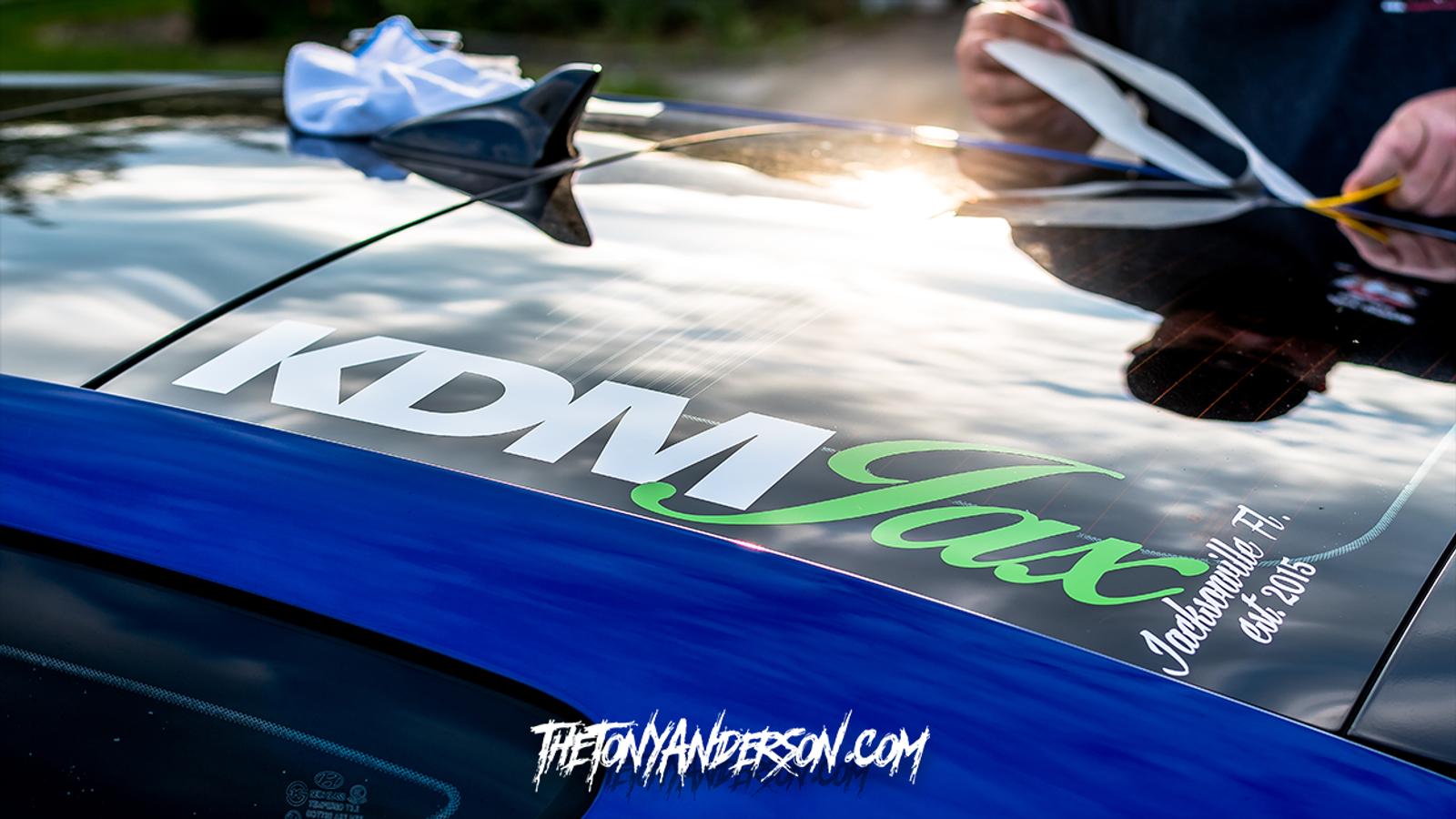 KDM Jax Side Window Banner