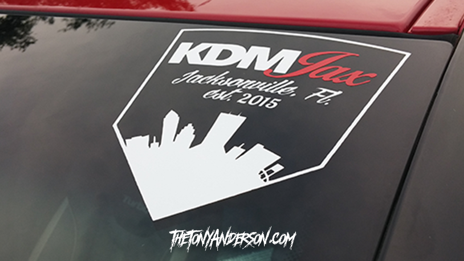 KDM Jax Side Badge Style Decal