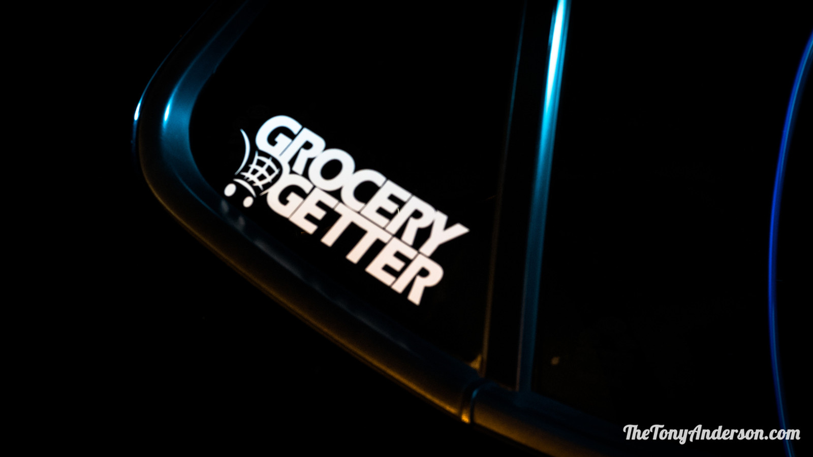 """Grocery Getter"" vinyl Sticker"