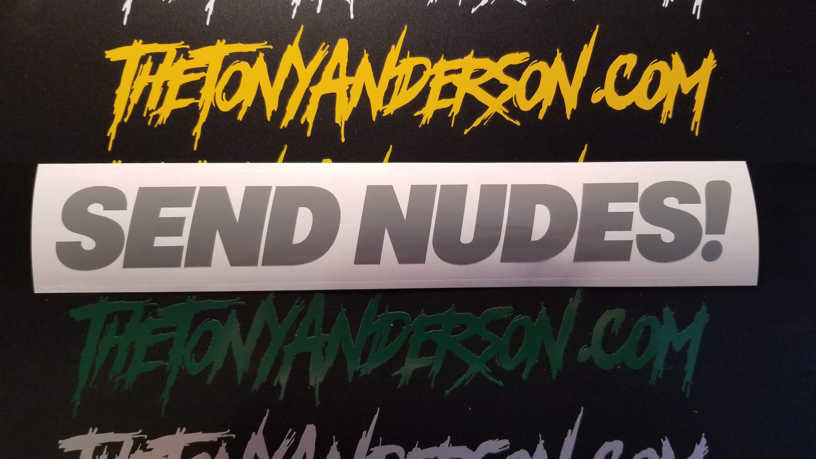 Send Nudes! Sticker Decal