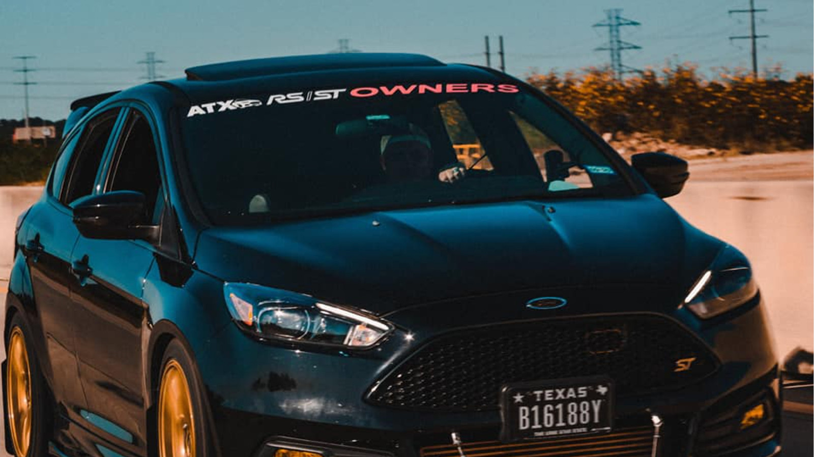 ATX RS/ST Owners Windshield Banner
