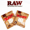 RAW Natural Unrefined Cotton Filters - REGULAR