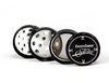 Famous X Cheech & Chong 3 Stage Grinder - Black