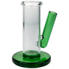 """3"""" Glass Carb Cap & Dabber Stand - Green"""