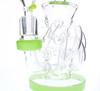 Green Multi-Tenti Water Pipe