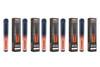 VapeBrat Zero: Nicotine Free 1500 Puff Hookah Pen 5 Pack
