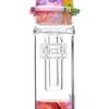 "8"" Silicone Glass Hybrid Nectar Collector with Matrix Perc & 10mm Nail - Tye Dye Swirl"