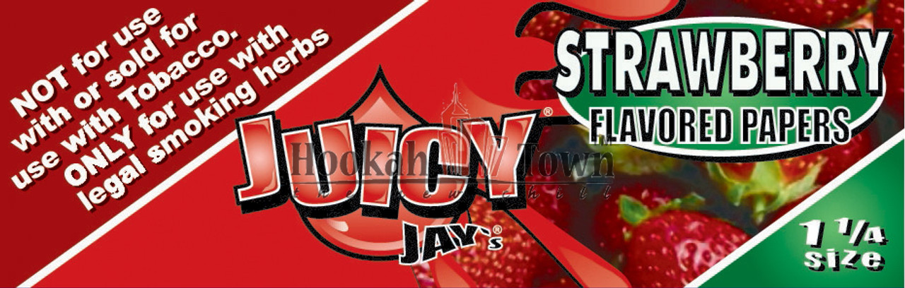 Juicy Jay's Flavored Rolling Papers: Strawberry (32 Sheets)