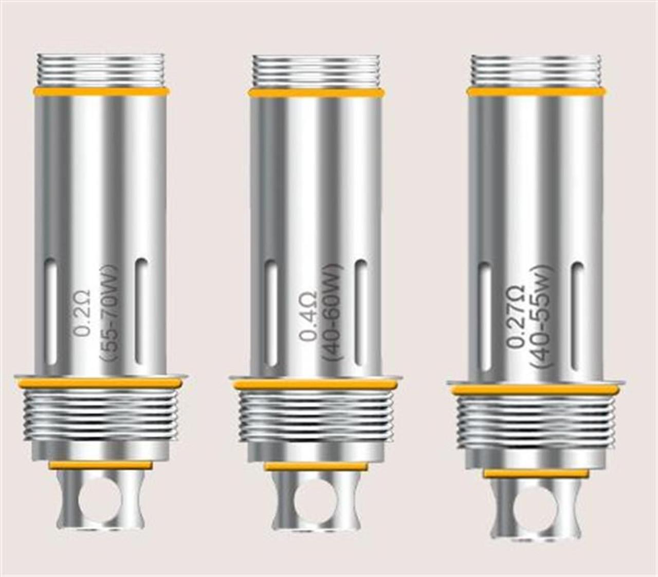 Cleito Sub Ohm 0.2ohm, 0.27ohm, 0.4ohm, SS316 T/C 0.4ohm Coils 1pc.