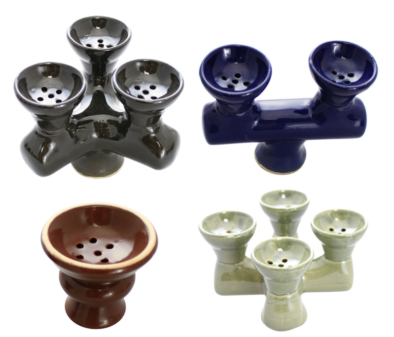 Hookah Clay Bowl Set