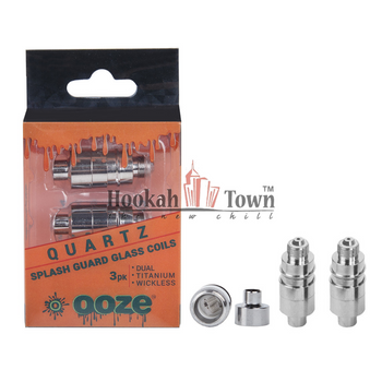 3 Pack QUARTZ Splash Guard Coils