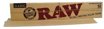 """Raw 12"""" Supernatural Rolling Papers Classic 1 Foot"""