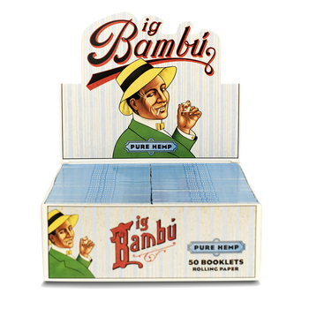 Big Bambu Pure Hemp Rolling Papers (33 Sheets)