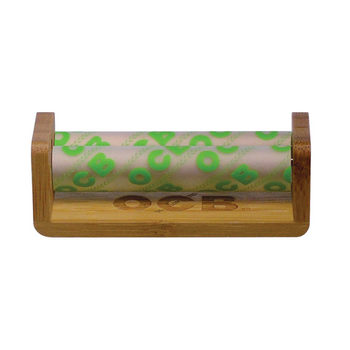 OCB Hemp Cigarette Rolling Machine Bamboo 70mm Single Wide