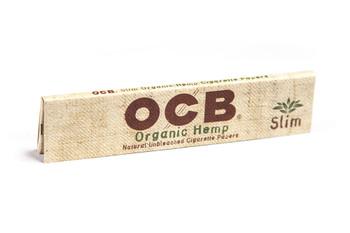 OCB Organic Hemp Unbleached Rolling Papers Slim