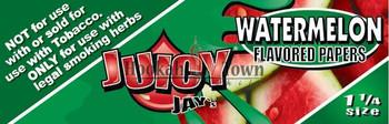 Juicy Jay's WATERMELON King Size Slim Rolling Paper - 32-Leaf Single Booklet