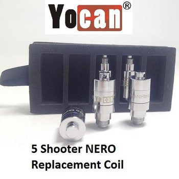 YOCAN 5 SHOOTER WAX VAPORIZER REPLACEMENT COILS