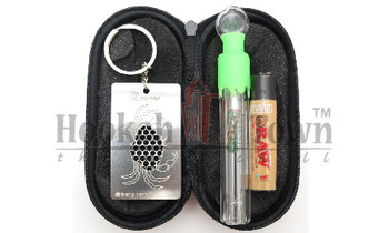 Ooze Slider Sliding Glass Pipe Travel Kit