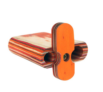 """Wood Spring Loaded Dugout 4"""""""