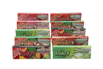Juicy Jay's 1 1/4 and King Size Variety 10 Pack (320 Leaves)