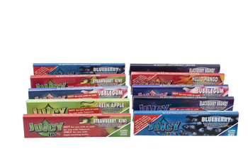 Juicy Jay's King Size Variety 10 Pack (320 Leaves)