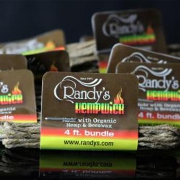 Randy's Small 4′ Bundle of Hemp Wick