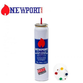 Newport Zero Extra Purified Butane 90ml. - 3floz