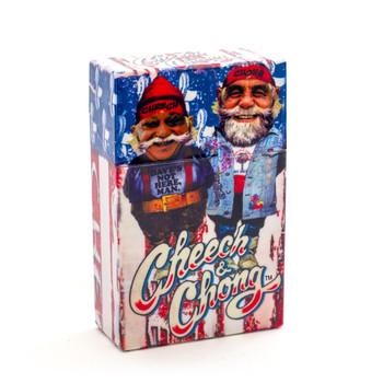 Cheech and Chong Flip Top Cigarette Case 85mm U S A