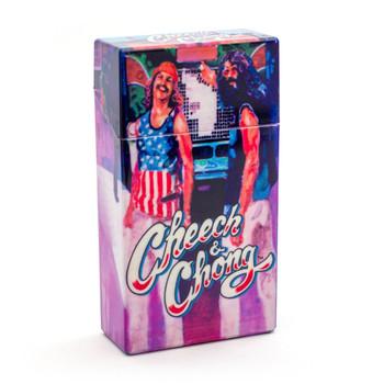 Cheech and Chong Flip Top Cigarette Case 100mm Truckin