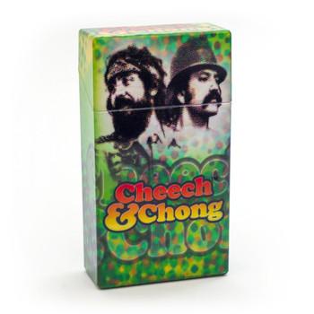 Cheech and Chong Flip Top Cigarette Case 100mm Reflection